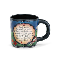 Sweet Table Prayer Mug to Bring Peace, Appreciation and Respect to Your Table