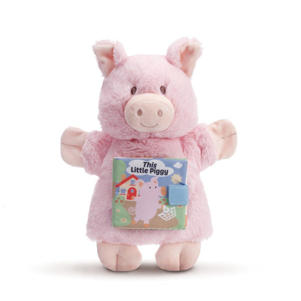This Little Piggy or Cow Hand Puppet Books for the Little Ones in Your Life!-The Pink Pigs, A Compassionate Boutique