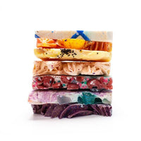 Soap Sampler Set TIN, BEST SELLERS Handmade Vegan Soaps by FinchBerry-The Pink Pigs, A Compassionate Boutique
