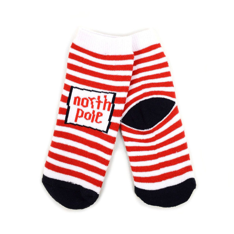 Toddler 3Pk Christmas Socks, so CUTE! Help rescued animals! - The Pink Pigs, A Compassionate Boutique