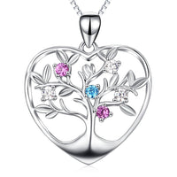 Tree of Life in a Heart in Sterling Silver-Sale!-The Pink Pigs, A Compassionate Boutique