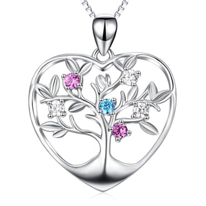 Tree of Life in a Heart in Sterling Silver-Sale!