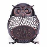Wire Animal Cork Holders & Banks!  Metal Craft Decor, Pig, Dog, Cat, Chicken, Owl & More!