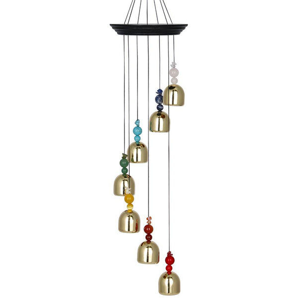 Woodstock Chimes Chakra Bells-The Pink Pigs, A Compassionate Boutique