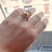 Gold & Diamond Sugarloaf Ring