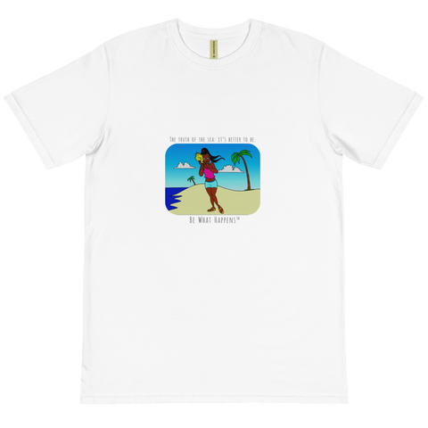 UNISEX SHORT SLEEVE 100% ORGANIC COTTON T | TRUTH OF THE SEA