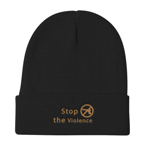 Knit Beanie | Stop The Violence