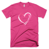 Unisex Short Sleeve 100% Cotton Tee | BWH Heart