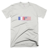 Unisex Short Sleeve 100% Cotton T | From France To The USA