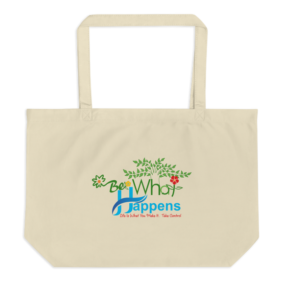100% ORGANIC COTTON TOTE BAG | FLORAL BWH