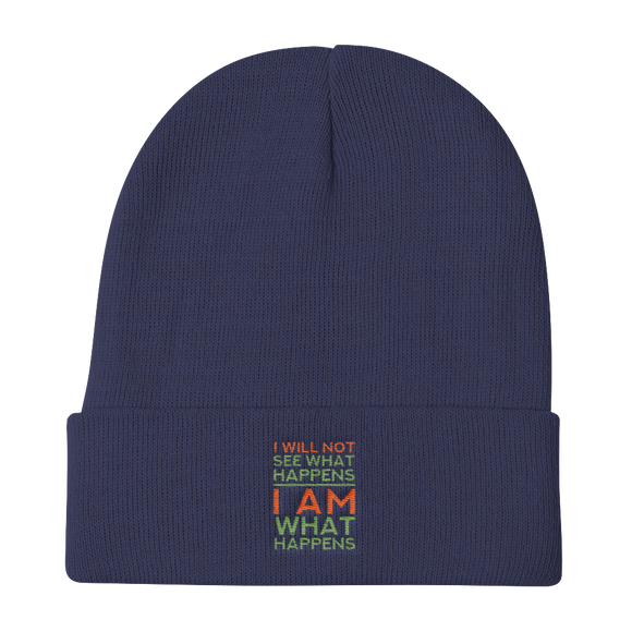 Knit Beanie | I Am What Happens