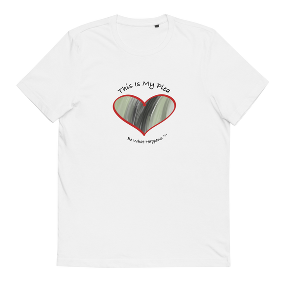 UNISEX SHORT SLEEVE 100% ORGANIC COTTON T | This Is My Plea