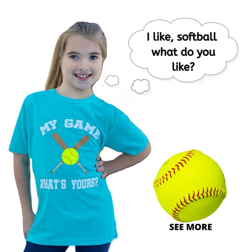 Boy/Girl Softball Shirt