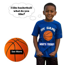 Load image into Gallery viewer, Boy/Girl Basketball Shirt