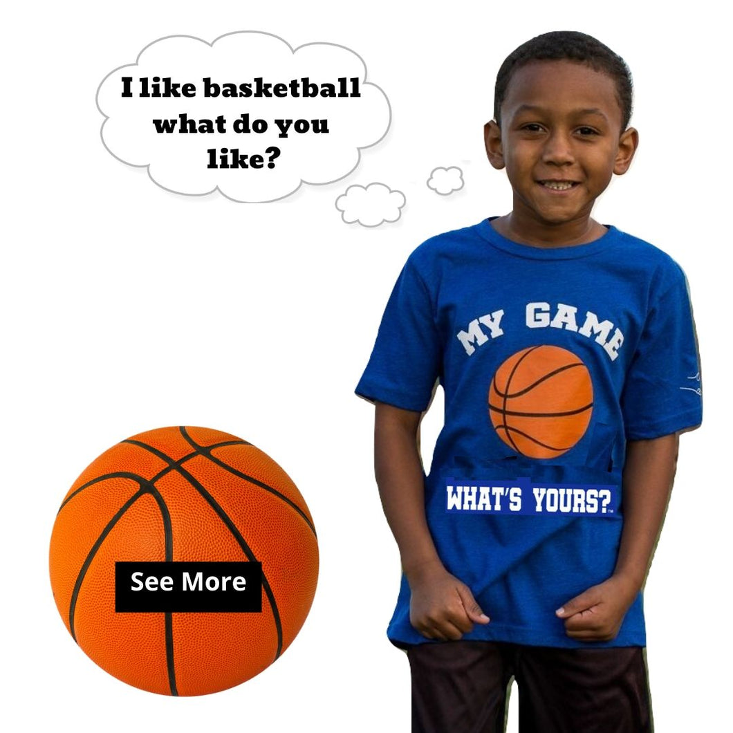 Boy/Girl Basketball Shirt