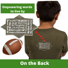 Load image into Gallery viewer, Boy/Girl Football Shirt