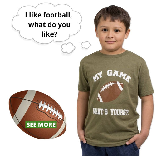 Boy/Girl Football Shirt