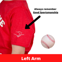 Load image into Gallery viewer, Boy/Girl Baseball Shirt