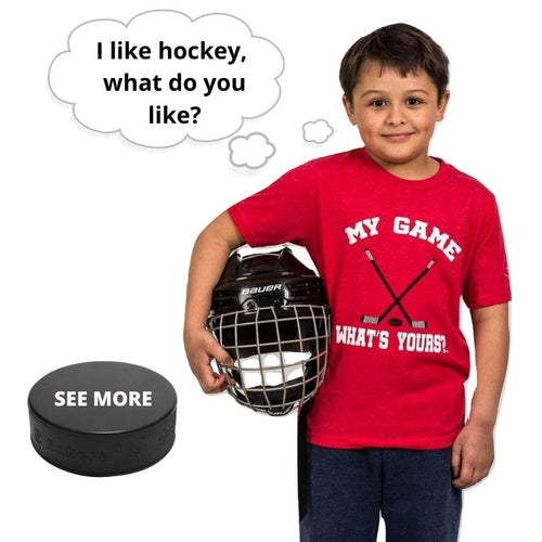 Boy/Girl Hockey Shirt