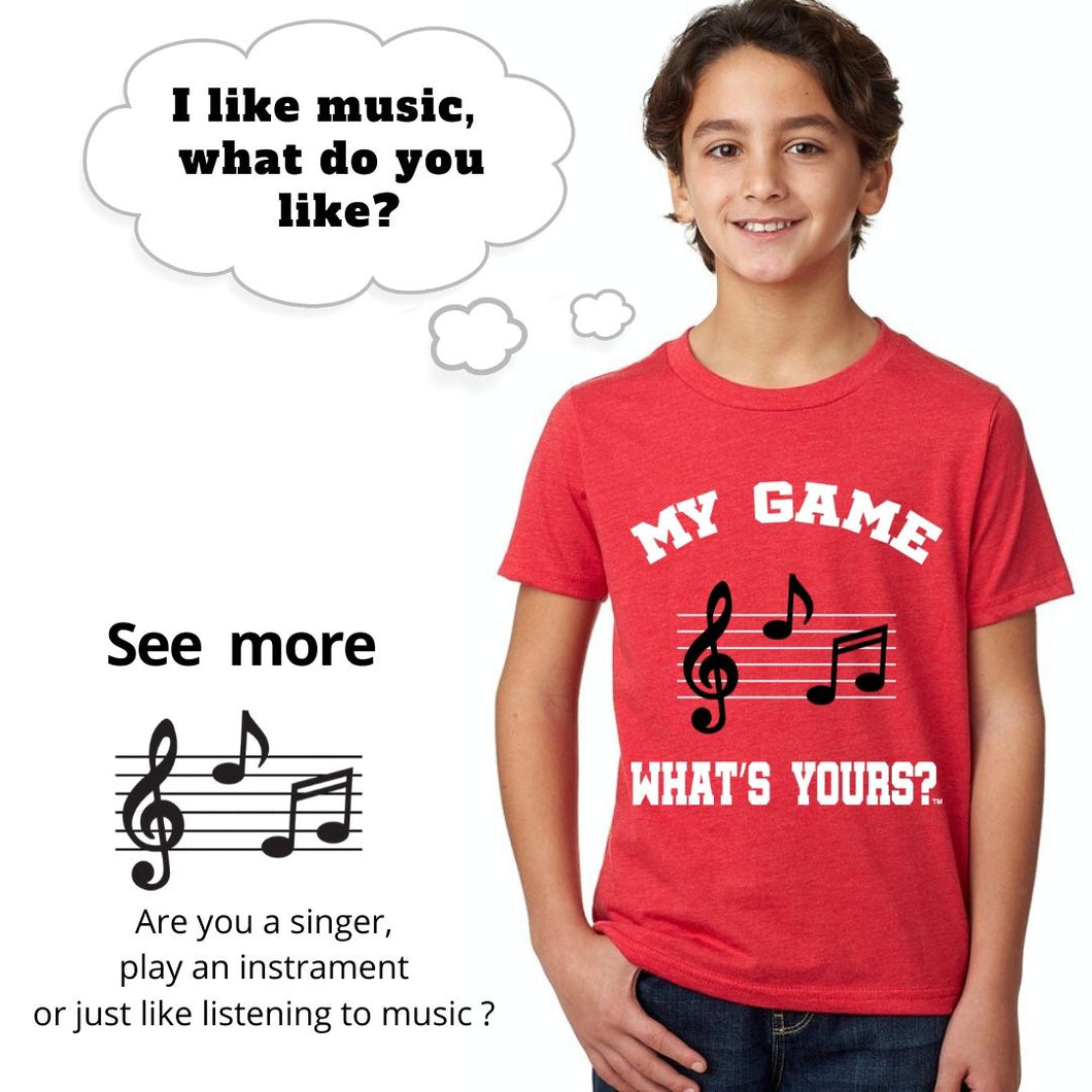 Boy/Girl Music Shirt