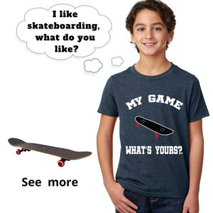 Boy/Girl Skateboard Shirt