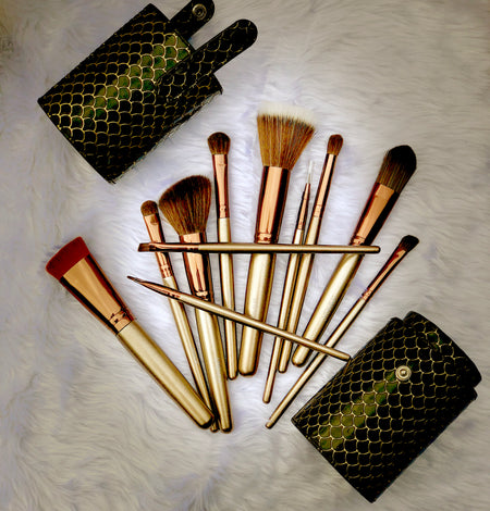 Gold Rush Brush Set