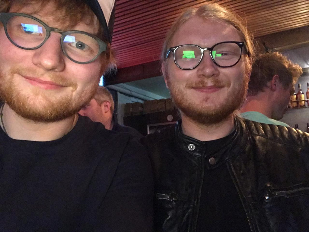 Ed Sheeran in Houtbay ???   Oh no !