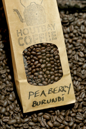 BURUNDI PEABERRY - naturally organic coffee beans