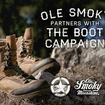 Boot Campaign Official Charity Partner of Ole Smoky® Tennessee Moonshine