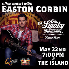 Easton Corbin Rocks Ole Smoky At Pigeon Forge On May 22nd