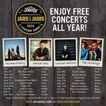 Ole Smoky Announces Second Annual Jars & Jams Entertainment Series