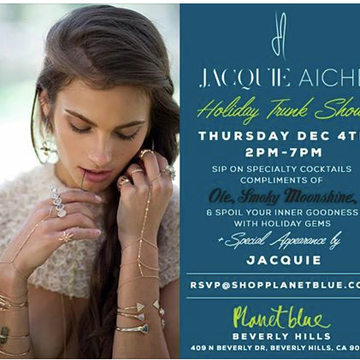 Ole Smoky Shine N Seven at Jacquie Aiche's Holiday Trunk Show