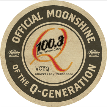 Ole Smoky Official Moonshine of the Q-Generation at Q100.3