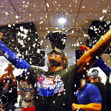 Poppin Bottles in the Clubhouse: What the Dodgers Drank Last Night
