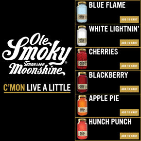 Ole Smoky Moonshine Now Available Online