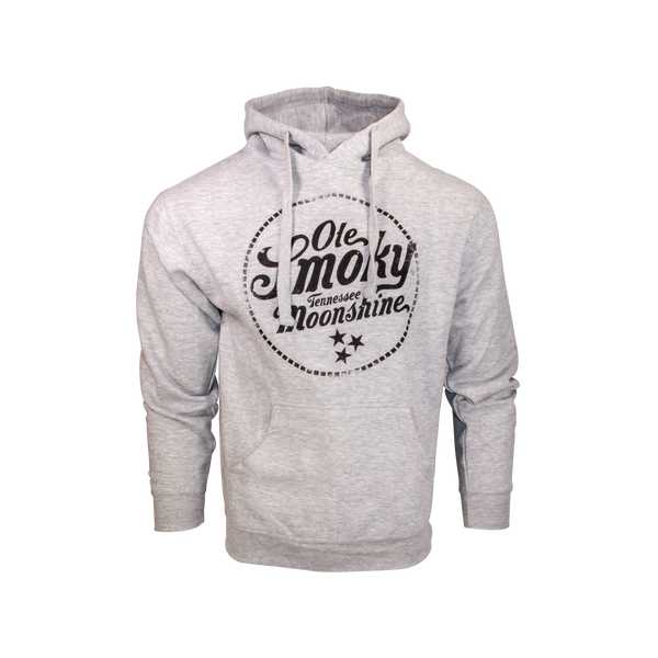HEATHER GREY LOGO HOODIE