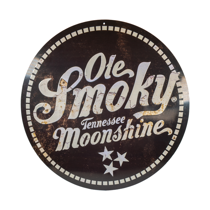 MOONSHINE LOGO ROUND SIGN