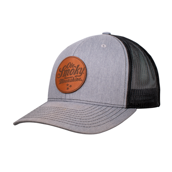 SADDLE BROWN LOGO PATCH HAT