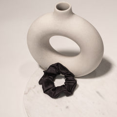 Vegan Bamboo Silk Hair Scrunchie - CENTRED