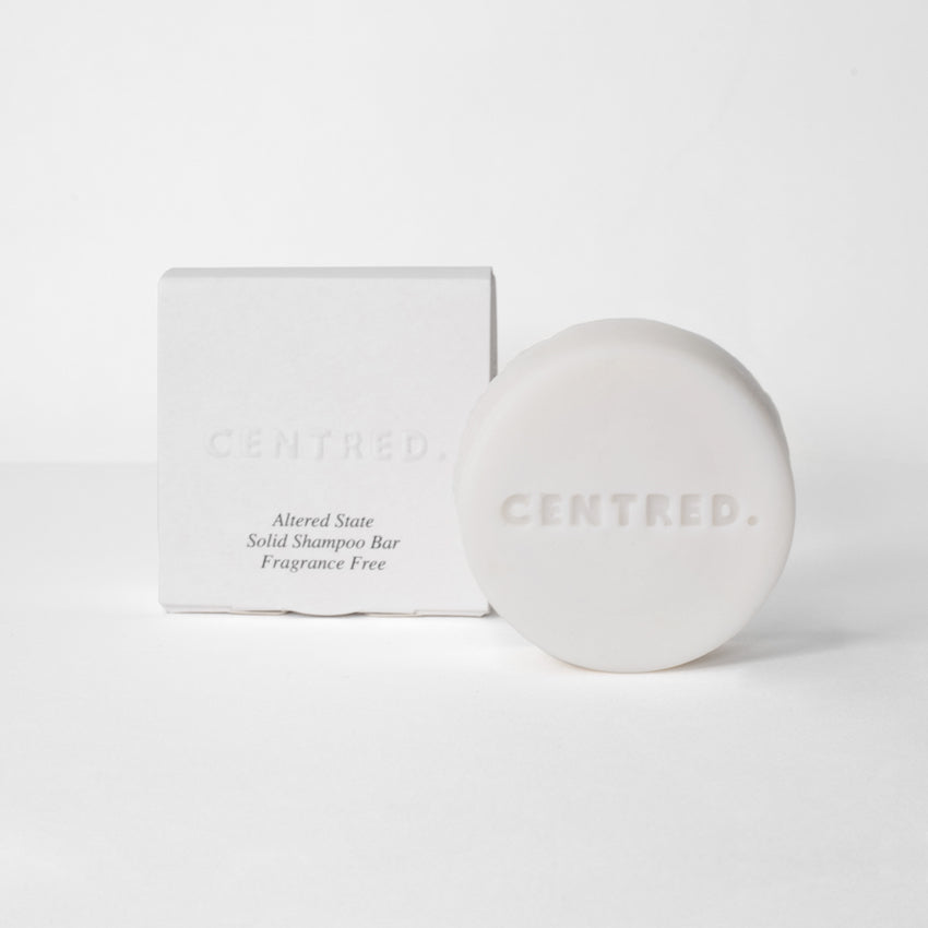 Altered State Solid Shampoo Bar - Fragrance Free - CENTRED