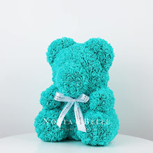 Load image into Gallery viewer, Beautiful Turquoise teddy rose - 14 in.