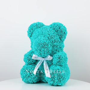 Beautiful Turquoise teddy rose - 14 in.