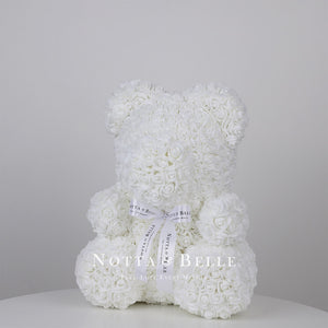 Beautiful White teddy rose - 14 in.