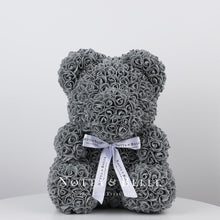 Load image into Gallery viewer, Grey teddy rose - 14 in.