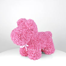 Load image into Gallery viewer, Pink rose puppy - 35 cm