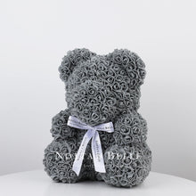 Load image into Gallery viewer, Beautiful Grey teddy rose - 14 in.