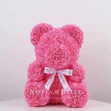 Load image into Gallery viewer, Pink Rose Bears - 35 cm