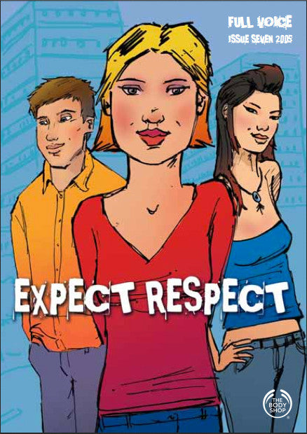 Expect Respect Campaign - The Body Shop - Help Stop Violence in the Home