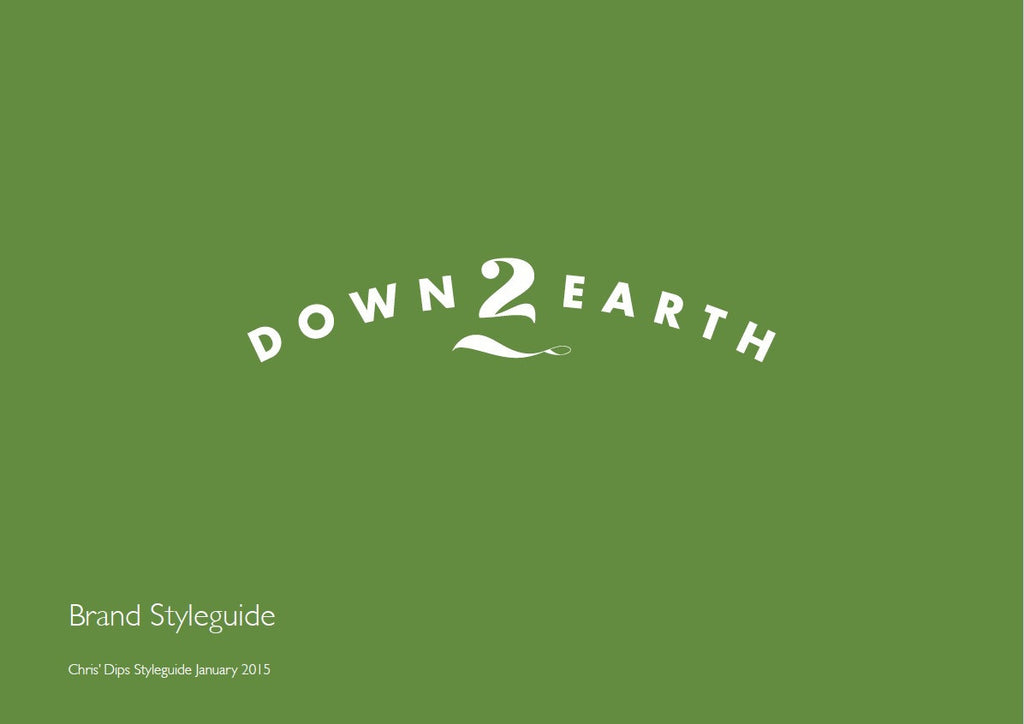 Chris' Down 2 Earth - Brand Guidelines