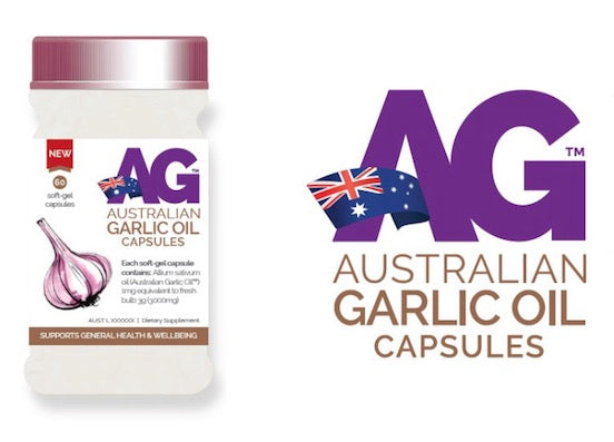 Australian Garlic Oil Packaging Design